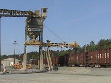 Sunrock's Trap Rock as Railroad Ballast