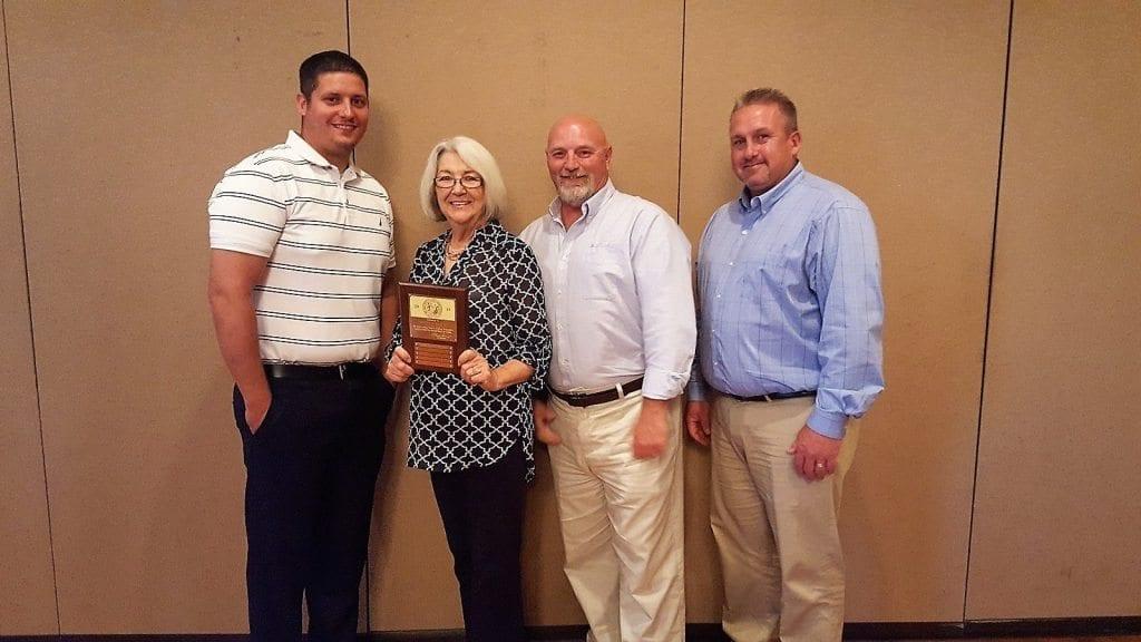 Carolina Sunrock - Certificate of Safety Achievement – Gold Award