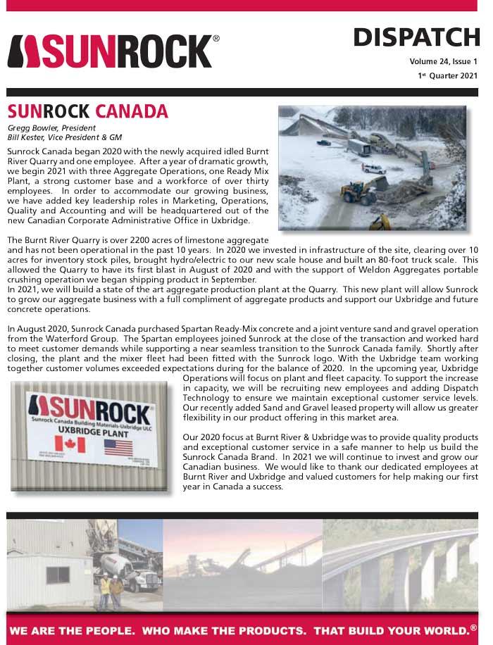Sunrock Canada